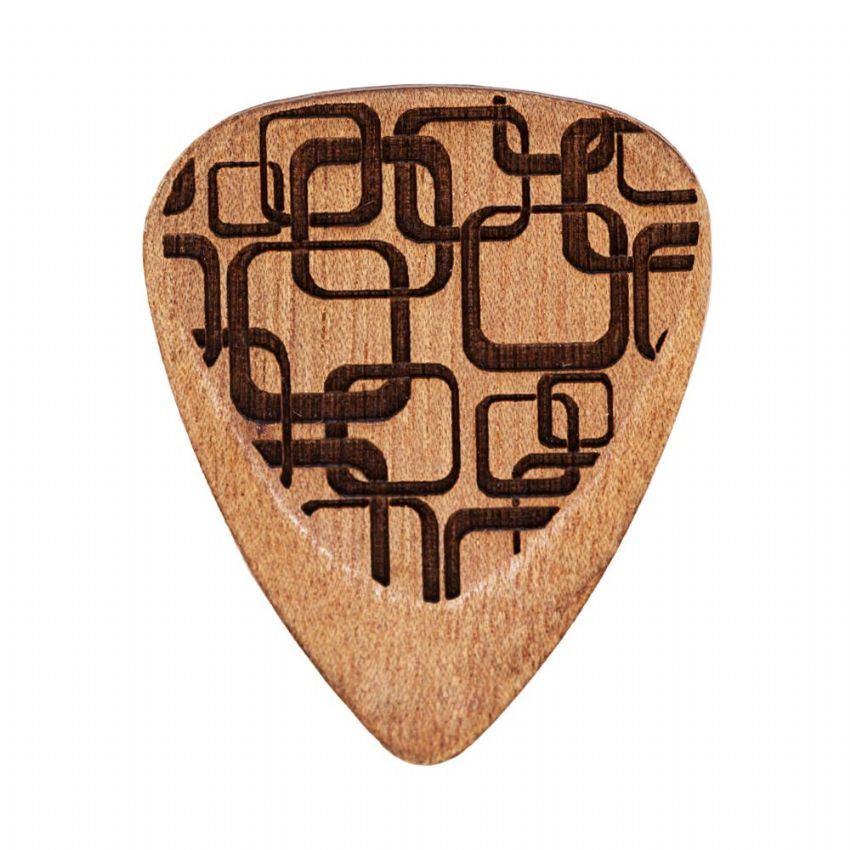 Laser Tones Grip - Art Deco - 1 Guitar Pick | Timber Tones